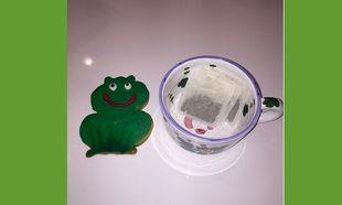 Κι όμως. Εδώ πίνει το τσάι της πασίγνωστη τηλεπερσόνα! (εικόνα)