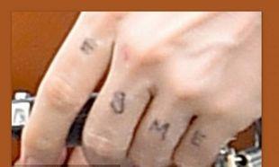 Είναι τόσο ερωτευμένος με την κόρη του που έκανε tattoo το όνομά της στο χέρι του!
