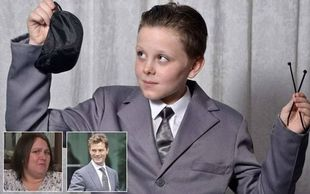 Βρετανία: 11χρονος πήγε ντυμένος σε σχολική γιορτή... «50 αποχρώσεις του γκρι»!