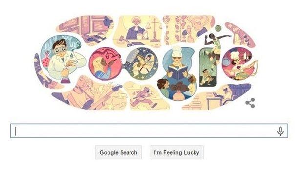 Το σημερινό doodle της Google είναι αφιερωμένο στην ημέρα της γυναίκας! (εικόνα)