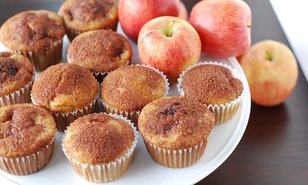 Συνταγή για λαχταριστά muffin με μήλο!