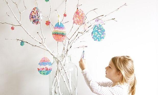 Το Πάσχα πλησιάζει! Ώρα να φτιάξετε πασχαλινό δεντράκι με το παιδί σας! (εικόνες)