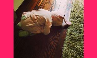 Ποια πασίγνωστη ηθοποιός έντυσε την κόρη της λαγουδάκι ενόψει του Πάσχα; (εικόνες)