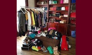 Κι όμως! Αυτή είναι η ντουλάπα πασίγνωστης μαμάς! (εικόνα)
