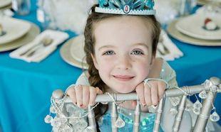 Παιδικό πάρτι γενεθλίων εμπνευσμένο από το παιδικό Frozen! (εικόνες)