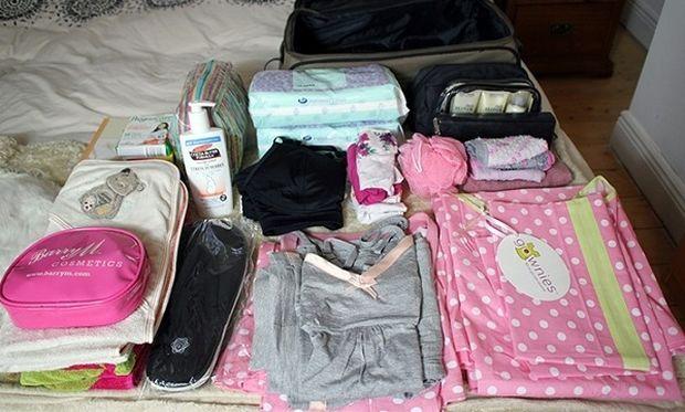 Λίγο πριν το μαιευτήριο: Βαλίτσα για εσάς και το μωρό! Ιδού τι πρέπει να περιέχει