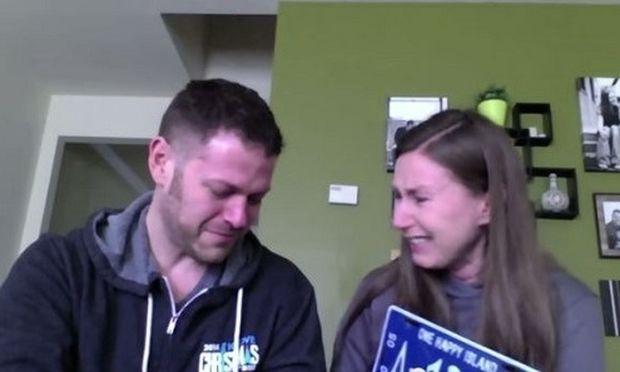 Δείτε τι εξομολογήθηκε on camera στο σύζυγό της και ξέσπασε σε κλάματα! (βίντεο)