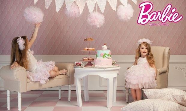 Νέα σειρά με βαπτιστικά ρούχα Barbie για… πραγματικές κούκλες