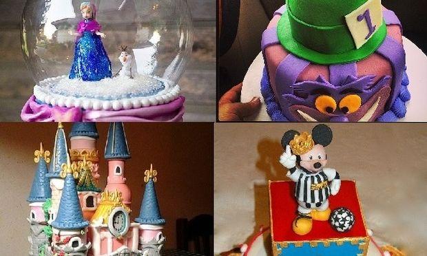 Οι πιο εντυπωσιακές τούρτες για παιδικο πάρτι εμπνευσμένες από τη Disney (εικόνες)