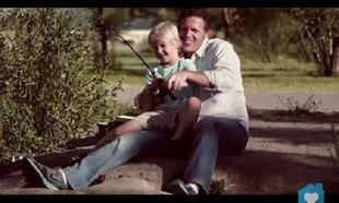 Μπαμπάς και παιδί: Μία σχέση... μοναδική! (βίντεο)