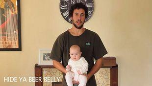 Αυτός ο μπαμπάς μας δείχνει 17 τρόπους που μπορούμε να κρατήσουμε ένα μωρό (βίντεο)