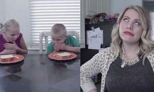 Βίντεο παρωδία, για το τι συμβαίνει σε ένα σπίτι όταν τα παιδιά αρνούνται να φάνε!