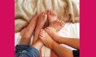 Στιγμές χαλάρωσης με τους γιους της για την... (εικόνα)