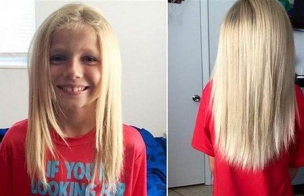Συγκλονιστικό: Δείτε γιατί αυτό το αγόρι είχε μακριά μαλλιά και δεχόταν άγριο bullying (εικόνες)