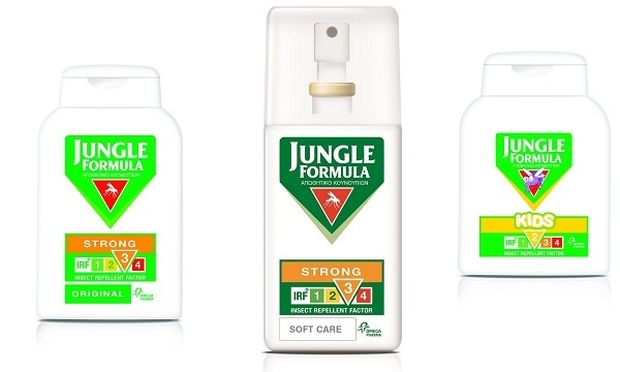 Jungle Formula: Κρατήστε τα κουνούπια μακριά με το «όπλο» της επιλογής σας !