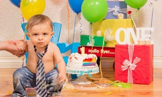 Συνταγή υγιεινής τούρτας για να γιορτάσετε τα πρώτα γενέθλια του παιδιού σας!