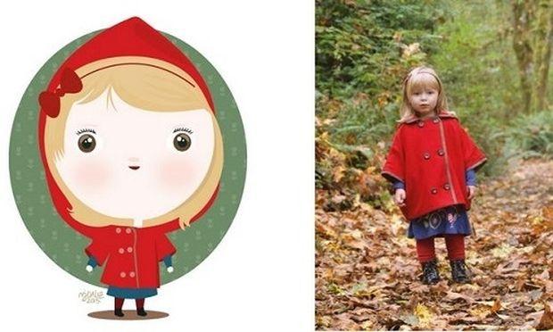 Πανέμορφο! Φωτογραφίες παιδιών μετατρέπονται στα πιο υπέροχα σκίτσα (εικόνες)