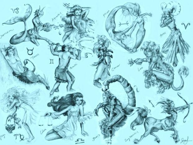 Τα 12 ζώδια σε ένα παράλληλο σύμπαν!