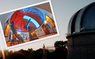 Ο Αττικός ουρανός, μέσα από το ιστορικό τηλεσκόπιο Δωρίδη