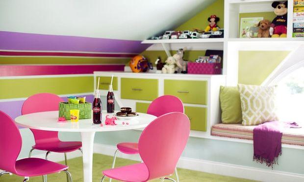 Deco: Όμορφες ιδέες για παιδικά δωμάτια σε σοφίτα