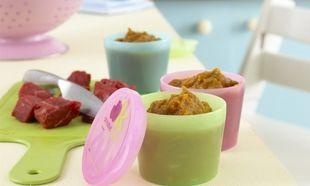 Φαγητό για μωρά: Πουρές από μοσχαράκι και γλυκοπατάτα