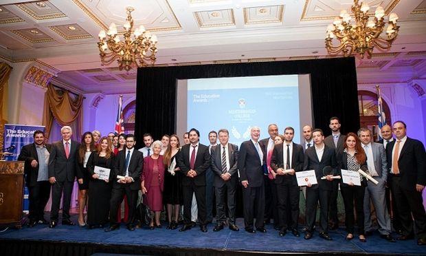 Mediterranean College-Βραβεία Εκπαίδευσης 2015.