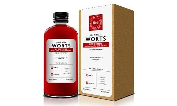 Worts Σιρόπι Υγείας…. ο σύμμαχός στο Σακχαρώδη Διαβήτη!