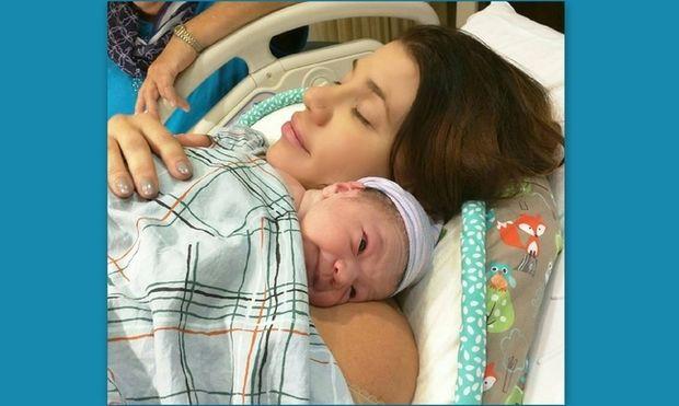 Γέννησε η Αννέτ Αρτάνι (φωτό)