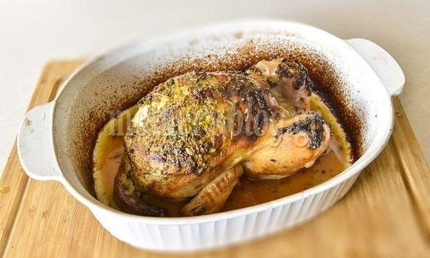 Το πιο νόστιμο κοτόπουλο φούρνου από τον Γιώργο Γεράρδο