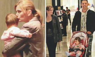Θεοφανία Παπαθωμά - Γρηγόρης Πετράκος: Oι πρώτες φωτογραφίες με την κόρη τους!