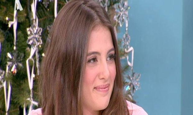 Η κόρη της Ευγενίας Μανωλίδου είναι ένα γλυκό κορίτσι! Δείτε την πρώτη της τηλεοπτική εμφάνιση (βίντεο)