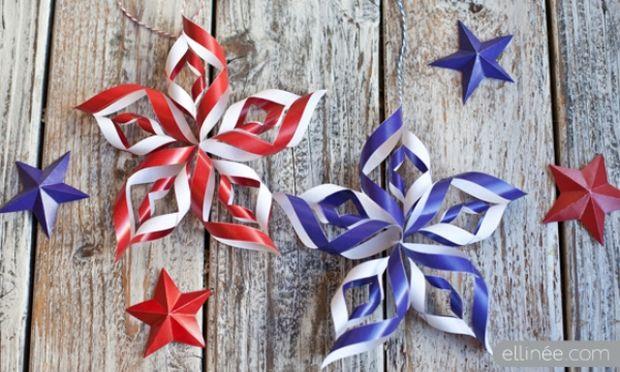 DIY: Φτιάξε εύκολα 3D αστέρια για το χριστουγεννιάτικο δέντρο και όχι μόνο (βίντεο)