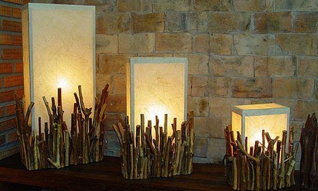 Deco: Ιδέες για ξύλινη διακόσμηση (εικόνες)