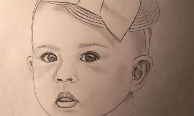 Υβόννη Μπόσνιακ: Αυτή είναι η κόρη της... (σκίτσο)