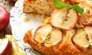 Κέικ ανάποδο με καραμελωμένα μήλα