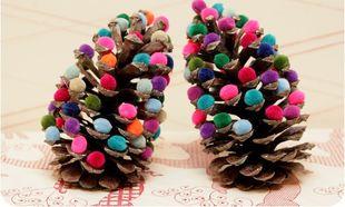 DIY: Φτιάξτε μόνες σας πανεύκολα χριστουγεννιάτικα στολίδια
