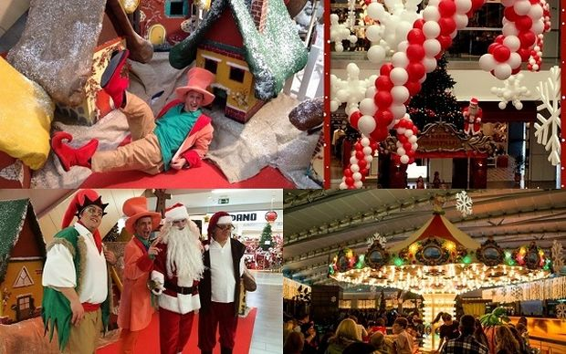 Μικροί και μεγάλοι απολαμβάνουν τα Χριστούγεννα στο Athensheart Mall!