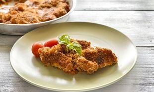 Φιλέτο κοτόπουλο φούρνου με ντομάτα και παρμεζάνα, από τον Γιώργο Γεράρδο