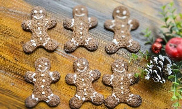 Μπισκοτάνθρωποι με σοκολάτα και τζίντζερ από τον Γιώργο Γεράρδο!