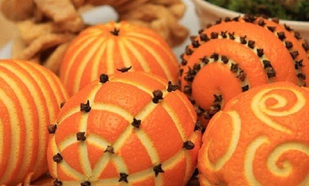Αρωματικό χώρου με πορτοκάλι και γαρύφαλλο!