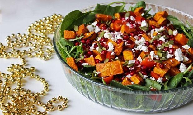 Χριστουγεννιάτικη σαλάτα για το γιορτινό τραπέζι!