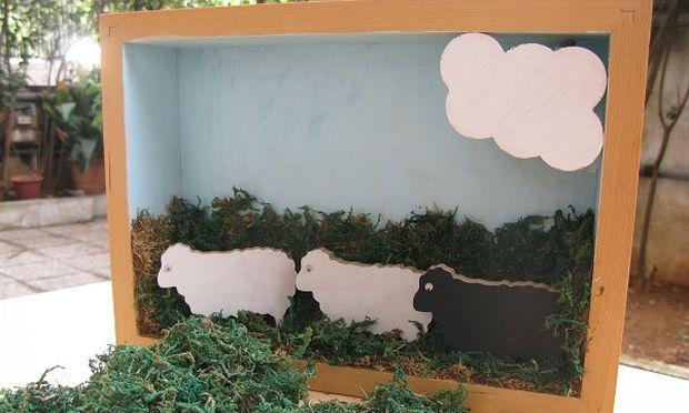 Φτιάξτε ένα όμορφο ξύλινο φωτιστικό για το παιδικό δωμάτιο!