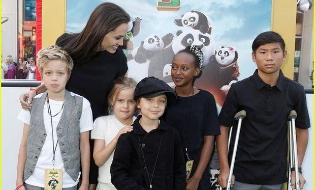 Αντζελίνα Τζολί: Δείτε πόσο έχουν μεγαλώσει τα παιδιά της (εικόνες)