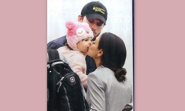 Asthon Kutcher-Mila Kunis: Παντού με την κόρη τους