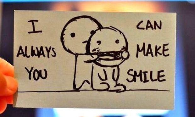 Ένα χαμόγελο αρκεί για να φτιάξει τη μέρα σου και τη μέρα του άλλου!