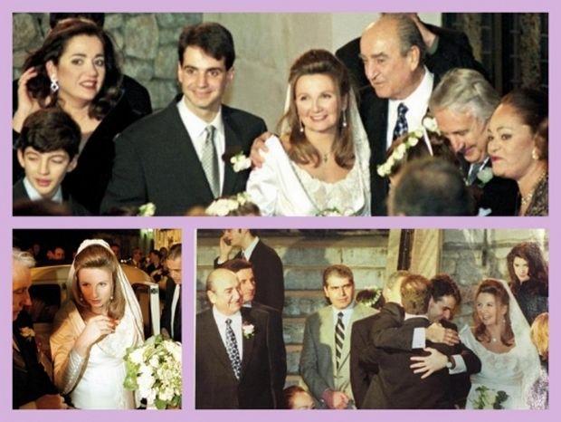 Κυριάκος Μητσοτάκης - Μαρέβα Γκραμπόφσκι: Σπάνιες φωτογραφίες από το λαμπερό γάμο τους