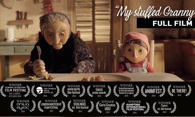 «My Stuffed Granny», το βραβευμένο ελληνικό animation της χρονιάς (βίντεο)