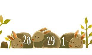 Στο δίσεκτο έτος είναι αφιερωμένο το doodle της Google