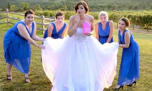 Bridal Buddy: Η πιο χρήσιμη εφεύρεση για όλες τις μέλλουσες νυφούλες! (βίντεο)
