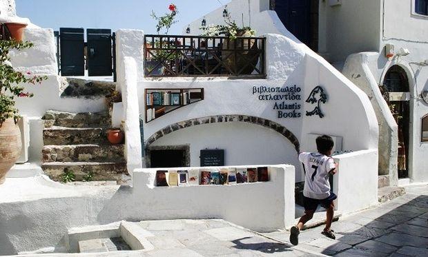 Το κορυφαίο βιβλιοπωλείο στον κόσμο βρίσκεται στη Σαντορίνη!
